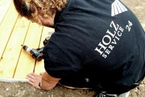 Tischler/In und Zimmerer für den Holzterrassenbau