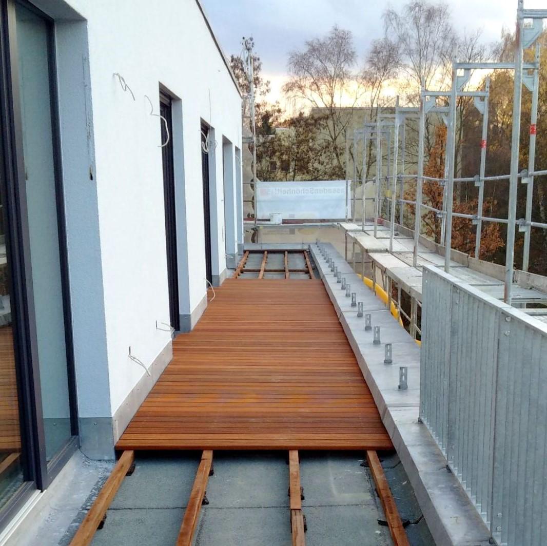 Professioneller Holzterrassenbau und was im Hintergrund passiert ...