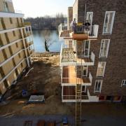 Schrägaufzug: Baustofflogistik von Holzterrassenbau Berlin